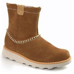 Замшеві черевики Clarks Crown Piper Tan