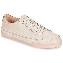 Шкіряні кросівки Clarks Hidi Holly White