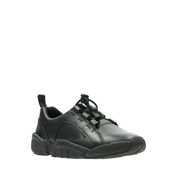 Шкіряні туфлі Clarks Tri Weave Black Smooth