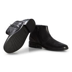 Шкіряні черевики Clarks Drew Moon Black