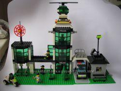 Полицейский участок с вертолетом BRICK 110
