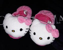 Тапочки обувь для дома Hello Kitty Хеллоу Китти 15,5 см.