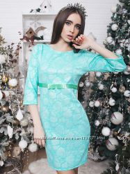 Новое платье ментолового цвета, размер 42-44 и 44-46