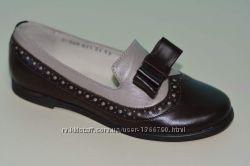Туфли из натуральной кожи ТМ Мальвы. Размеры 30-36
