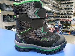 Зимние термоботинки Сказка ботинки для мальчиков 27-32