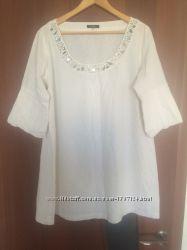 Льняная туника платье