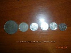 монеты Турция и Панама