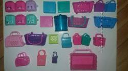 сумочки - пакеты- корзинки шопкинс shopkins рюкзачки