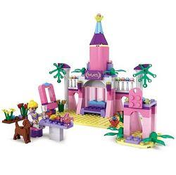 Конструктор COGO для девочек, замок принцессы, 178 деталей