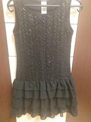 Нарядное платье для девочки р. 140