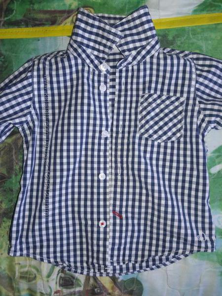 Детская рубашка с длинным рукавом для мальчика