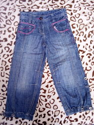 Бриджи, джинсы, шорты для девочки 4-6 лет