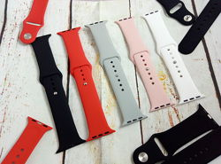 Браслет Ремешок силиконовый для Apple Watch 42 и 38 mm Выбор цветов