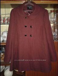 Пальто марсала р. 50-52 Dorothy Perkins