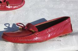 Оригинал подлинные туфли мокасины Max Mara р. 38, 5 -39 Италия яркие