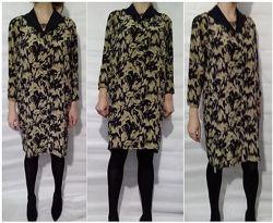Изумительное платье из натурального шелка р. 38 Италия