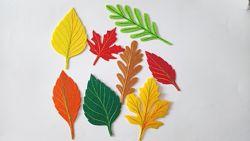Набор нашивок Осенний лист на карнавальные костюмы