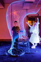 Неоновое Шоу ультрафиолетовые светящиеся мыльные пузыри Киев и область
