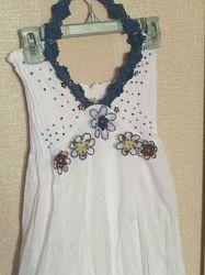 Летний сарафан лёгкое платье для девушки размер XS-S