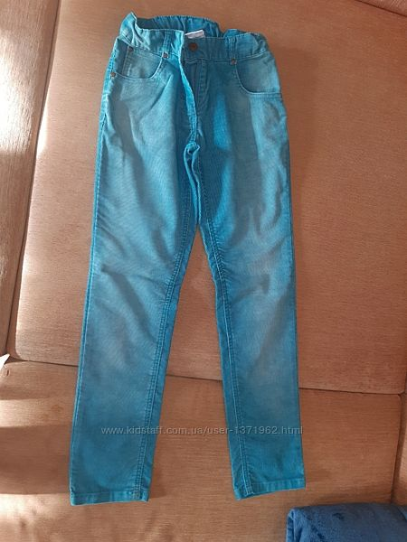 Штаны, джинсы вельвет