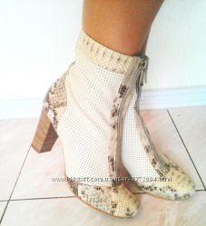 Легкие кожаные ботиночки ТМ АВИС с перфорацией