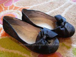 Кожаные туфельки BRASKA для девочки