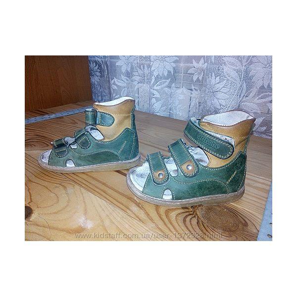 Ортопедические сандали 22р. 14 см.