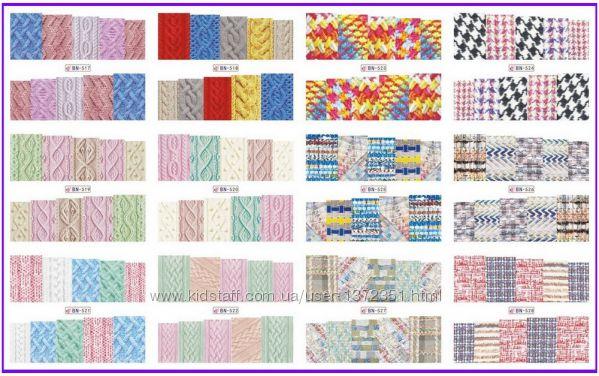 Наклейки на нігті , 2000 видів, слайдер , слайдер - дизайн