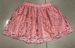 Очень красивые кружевные юбки на р. 110-152, Турция