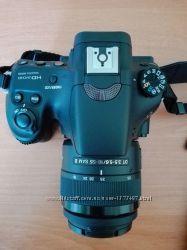 новый фотоаппарат sony slt- a58k