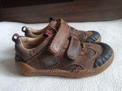 туфли Clarks  р. 25 кожа ботинки мокасины