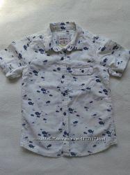рубашки Next 4-5лет рост 110см