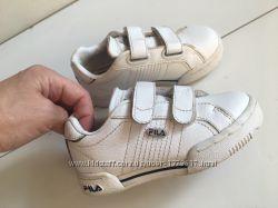 кожаные кроссовки Fila р. 25 стелька 15см