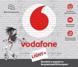 Красивый номер Vodafone МТС