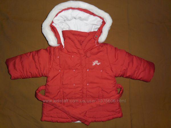 Курточка демисезонная для девочки 9-12 мест, рост 74-80см от Brums
