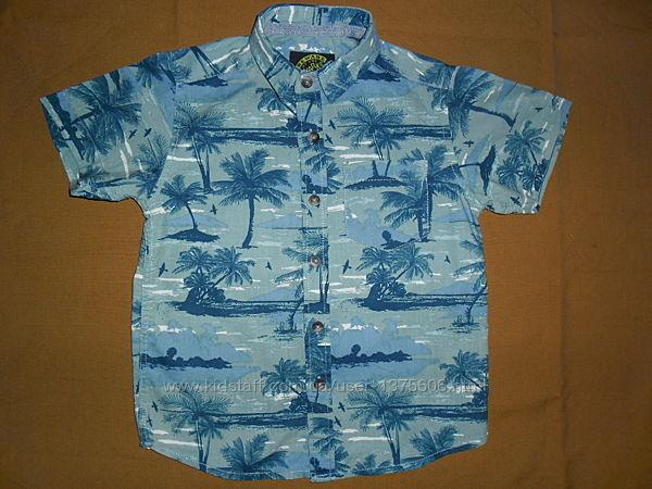 Рубашка тениска для мальчика 4 года, рост 104см от TU