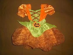 Платье карнавальное на Хеллоуин для девочки 1-2года