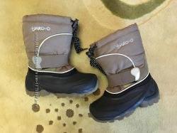 Ботинки-сапожки с валенком стелька 17 см