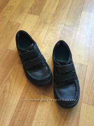 Кожаные туфли Clarks размер 32 33 стелька 21, 5 см