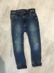 Джинсы, штаны вельветовые, спортивные 4-6 лет