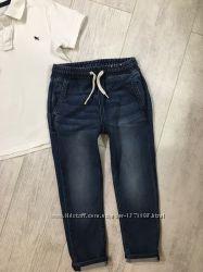 Летние штаны джинсы 5-6 лет