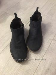 Деми ботинки замшевые 31-32 размер