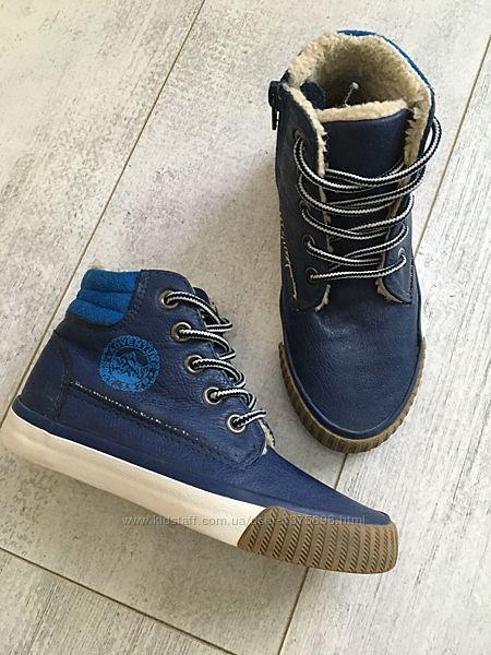 Деми ботинки 29 размер, утеплены