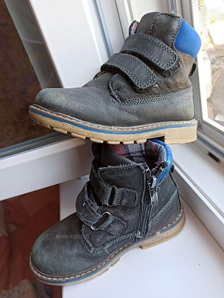 Ботинки ботиночки демисезонные детские. Полностью натуральные
