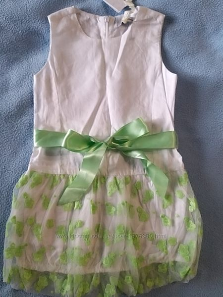 Праздничное нарядное платье Gaialuna 104см 3-4года Италия