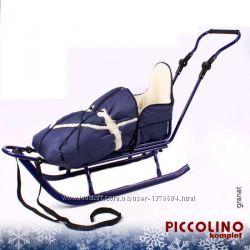 Санки-Ручка-Конверт Piccolino от торговой марки Adbor