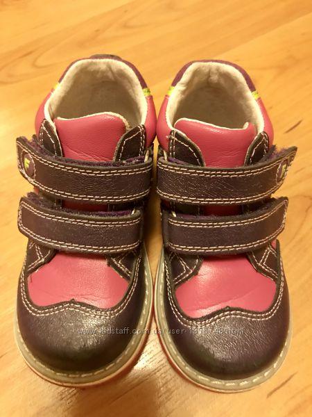 Ботинки кожа деми ортопеды Flamingo для девочки в хор. сост. , 22 р. 14&frac12 см