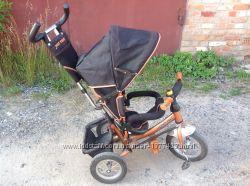 Трехколесный велосипед Azimut Trike. Надувные колеса.
