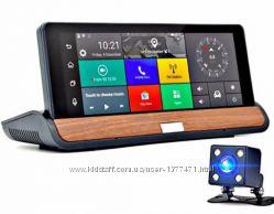 Видеорегистратор DVR T7 - 3G 8 2 камеры GPS Android 5 камера заднего вида