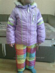 Новый зимний комплект куртка и комбинезон